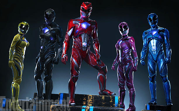 Power Rangers. Crédito da imagem: Entertainment Weekly